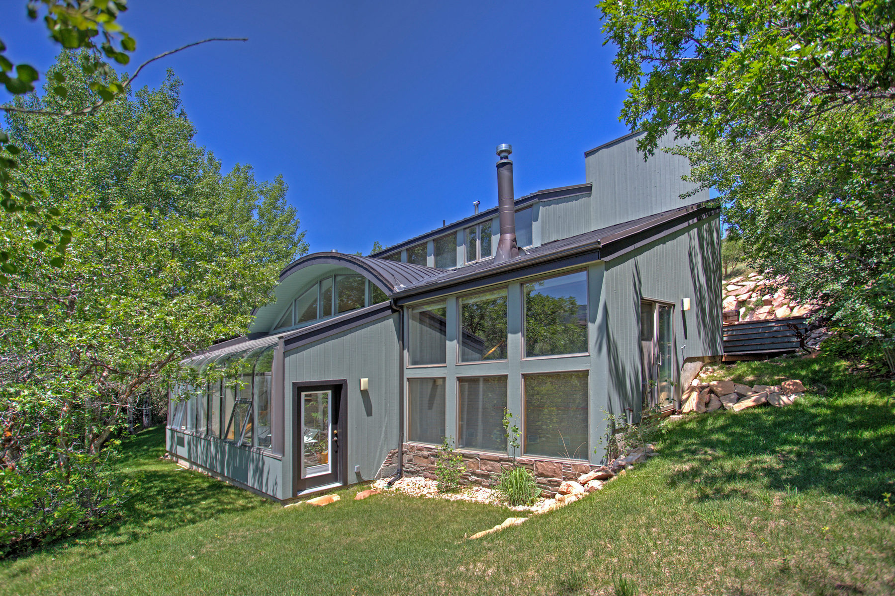 Single Family Home for Sale at Passive Solar Home Above Old Town 685 Mellow Mountain Rd Park City, Utah 84060 United States