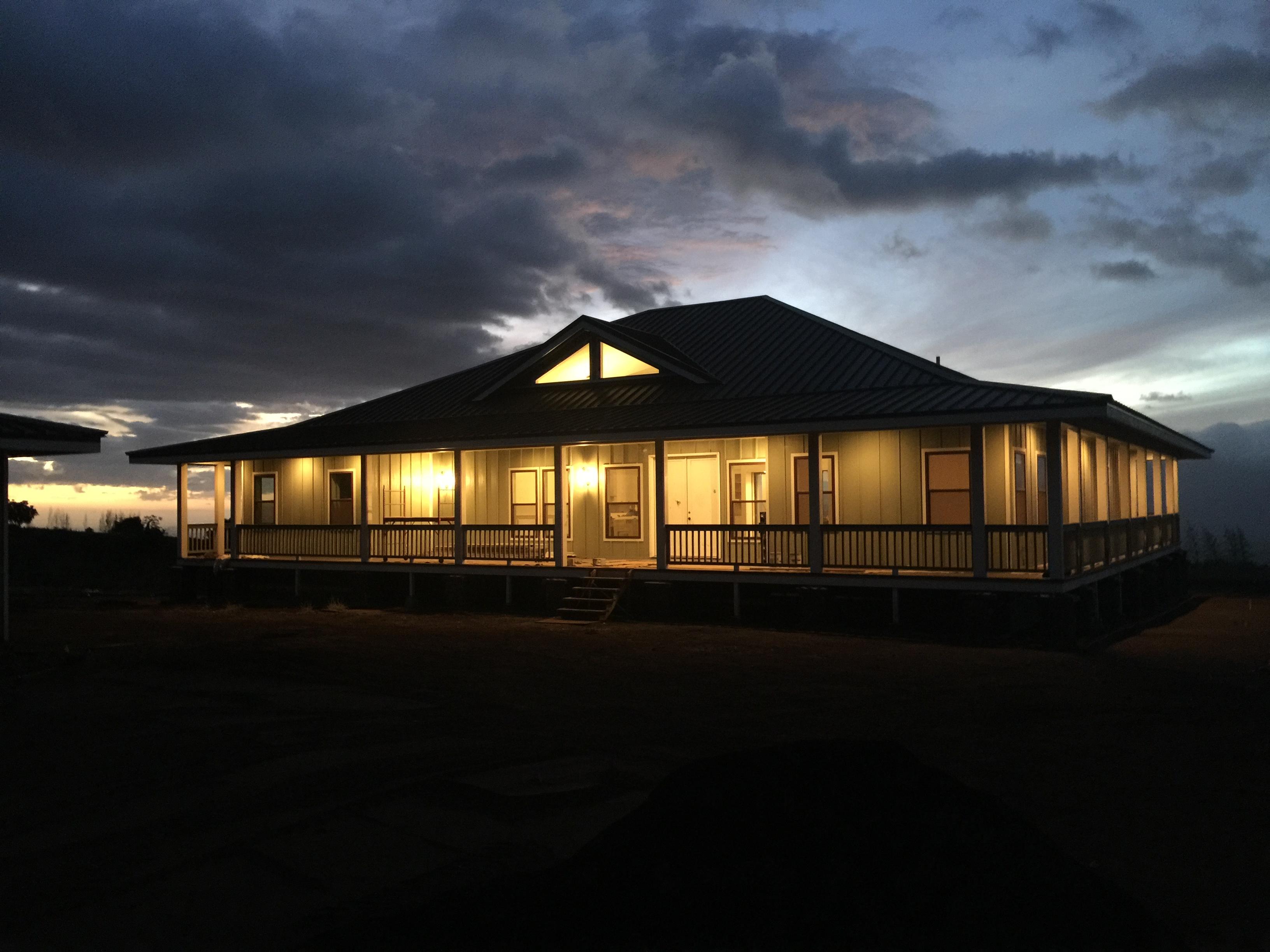 Single Family Home for Sale at Stunning New Custom Plantation Home, Kula 149 Hoomaikai Place Kula, Hawaii 96790 United States