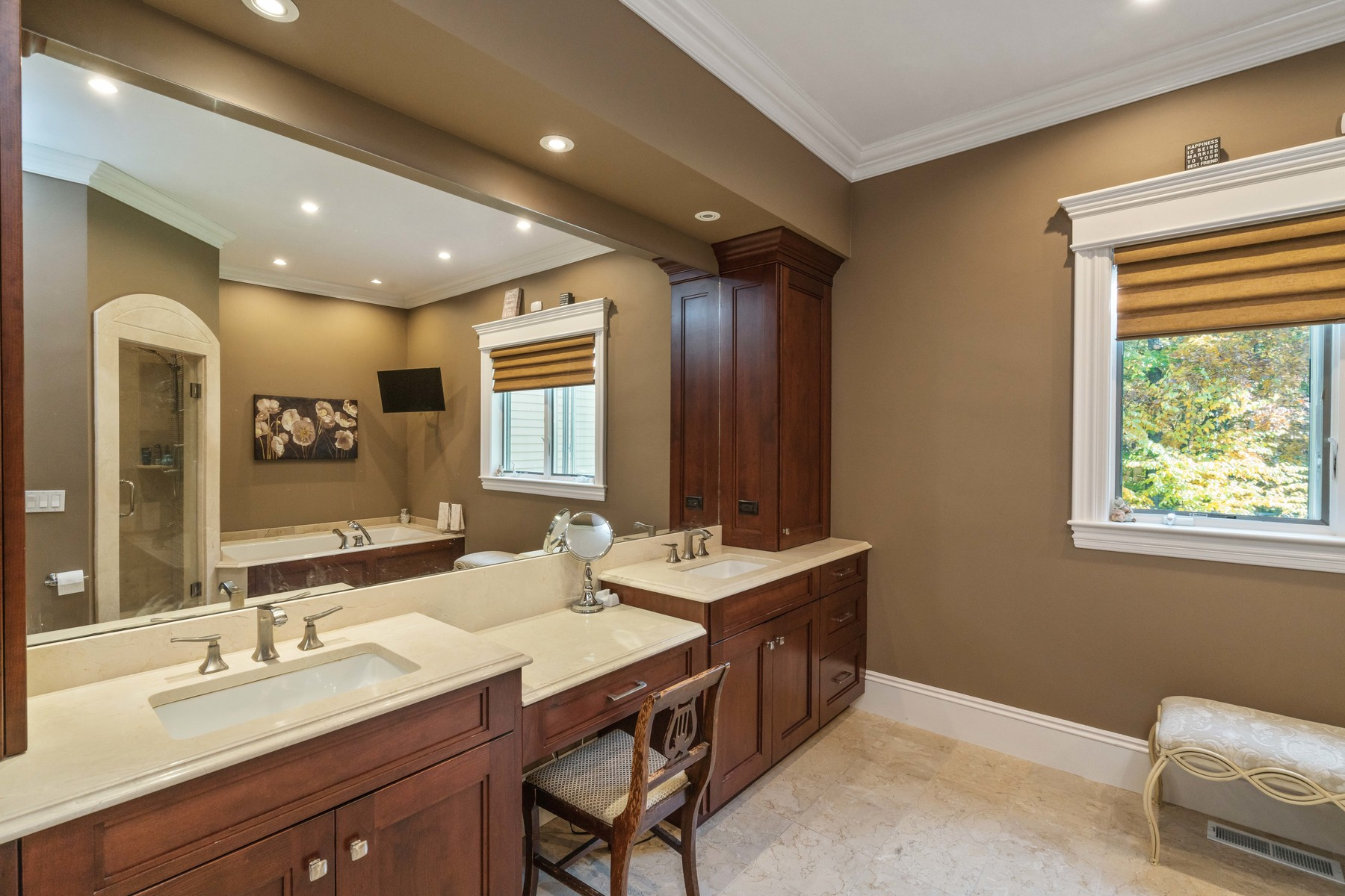 Property Of Masterful craftsmanship & attention to detail are evident throughout this impecc