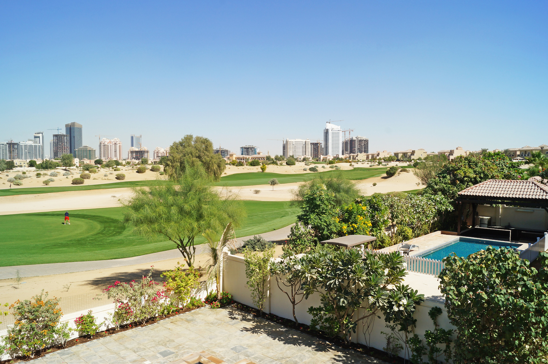 Single Family Home for Rent at Fabulous Golf Course views Villa, Type B1 in Esmeralda Dubai, Dubai United Arab Emirates