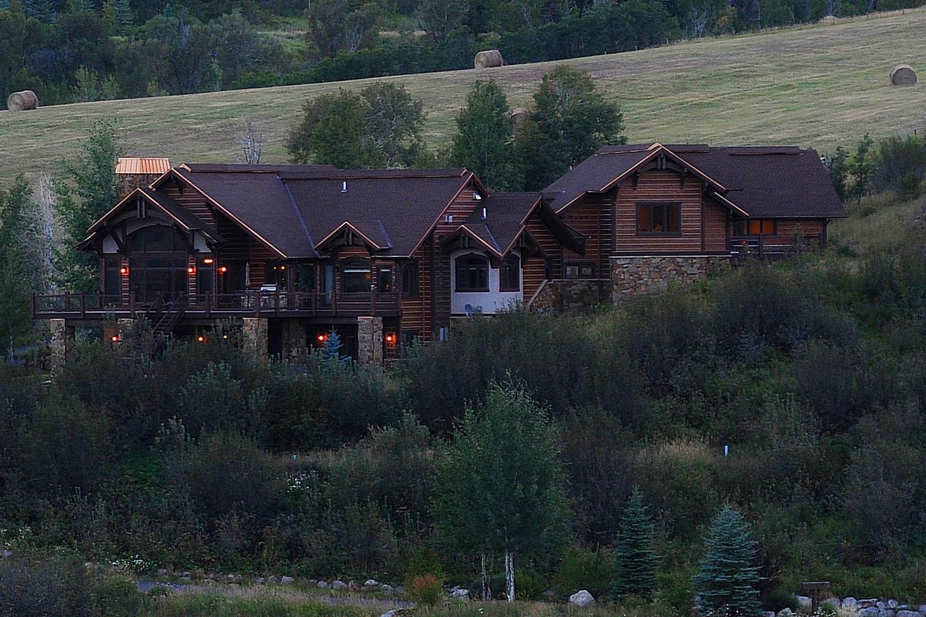 Einfamilienhaus für Verkauf beim Dakota Home 35945 Agate Creek Road Steamboat Springs, Colorado, 80487 Vereinigte Staaten