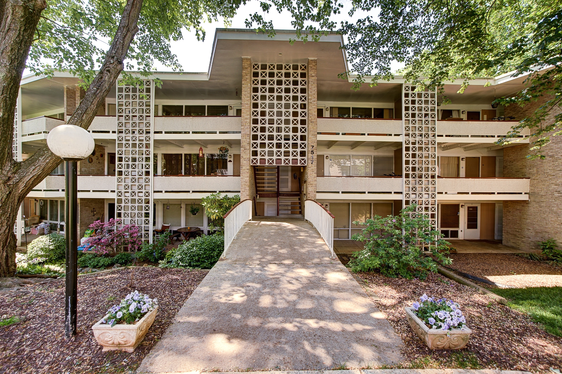 Property For Sale at 7517 Spring Lake Drive D-2, Bethesda