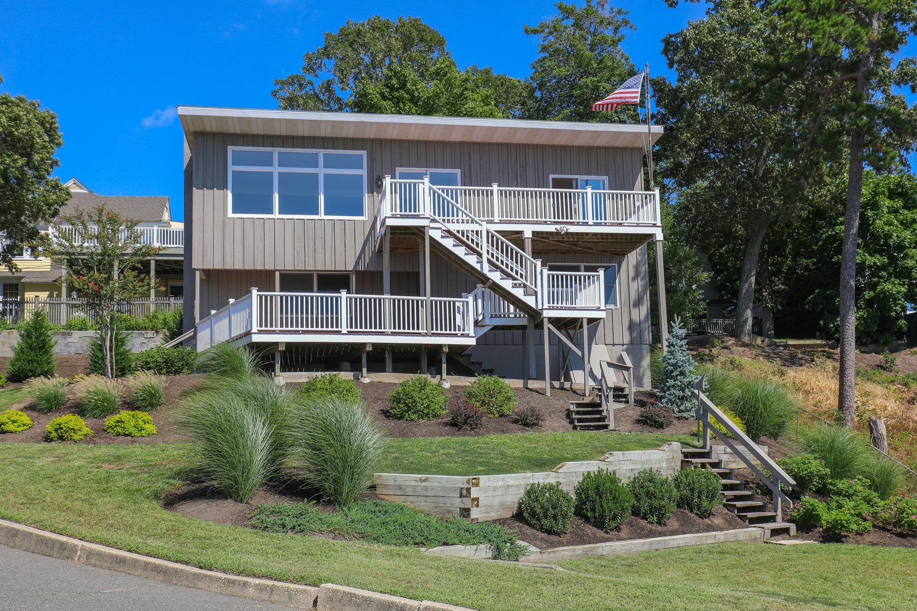 Casa Unifamiliar por un Venta en High On A Hill 21 Lake Drive Island Heights, Nueva Jersey 08732 Estados Unidos