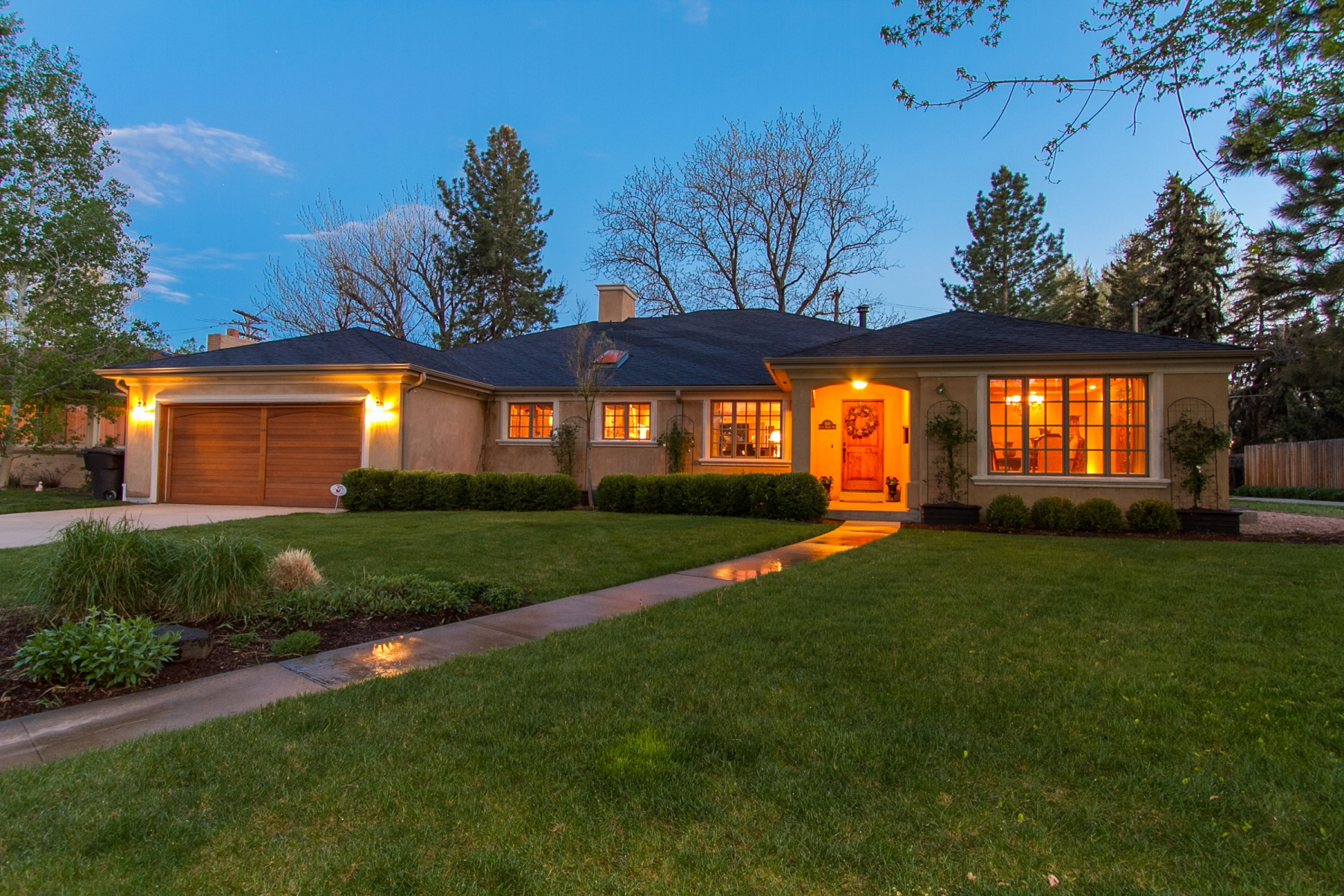 Single Family Home for Sale at A gorgeous remodel with a stunning backyard 601 S Monroe Way Belcaro, Denver, Colorado 80209 United States