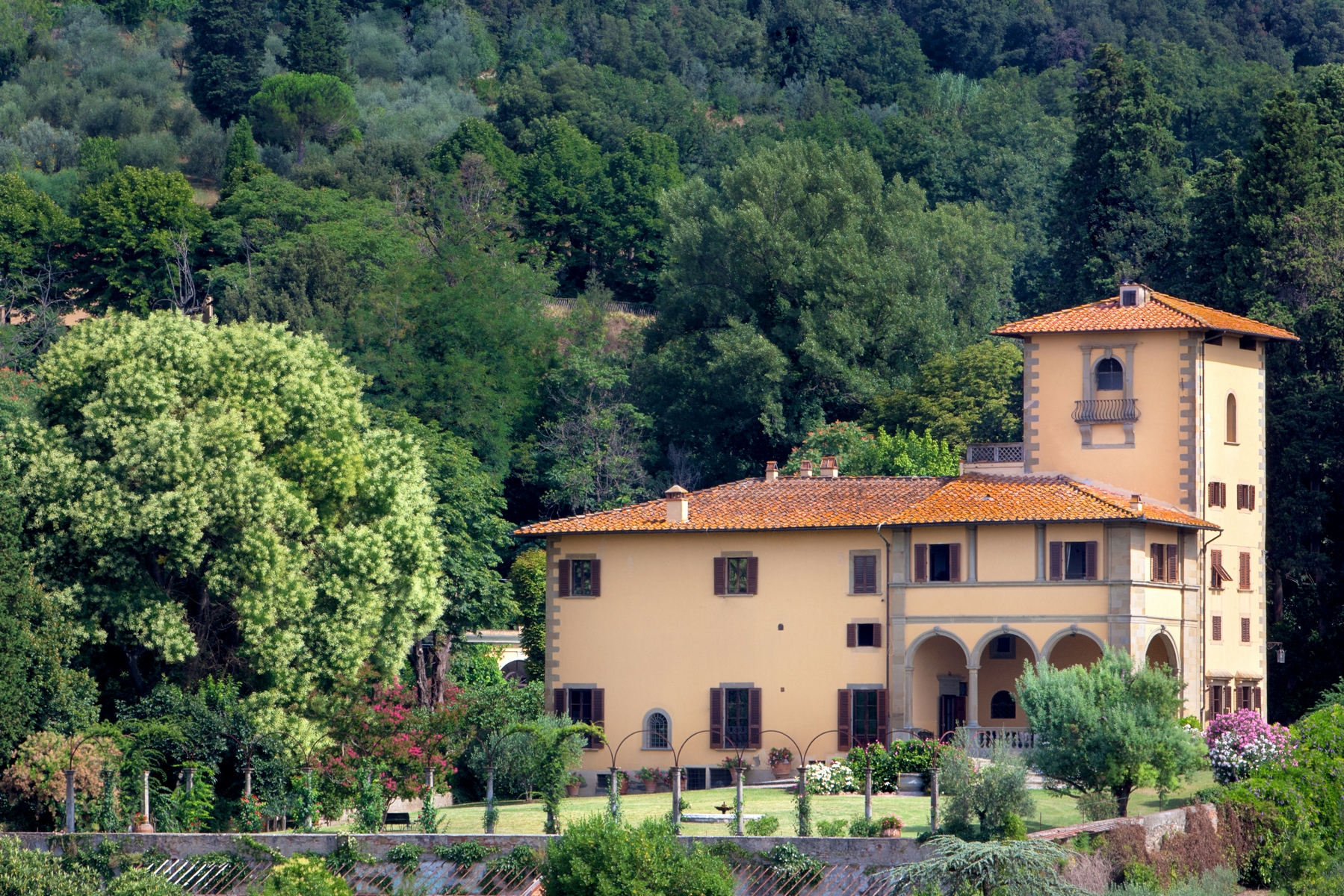 sales property at Elegant Tuscan villa near Florence