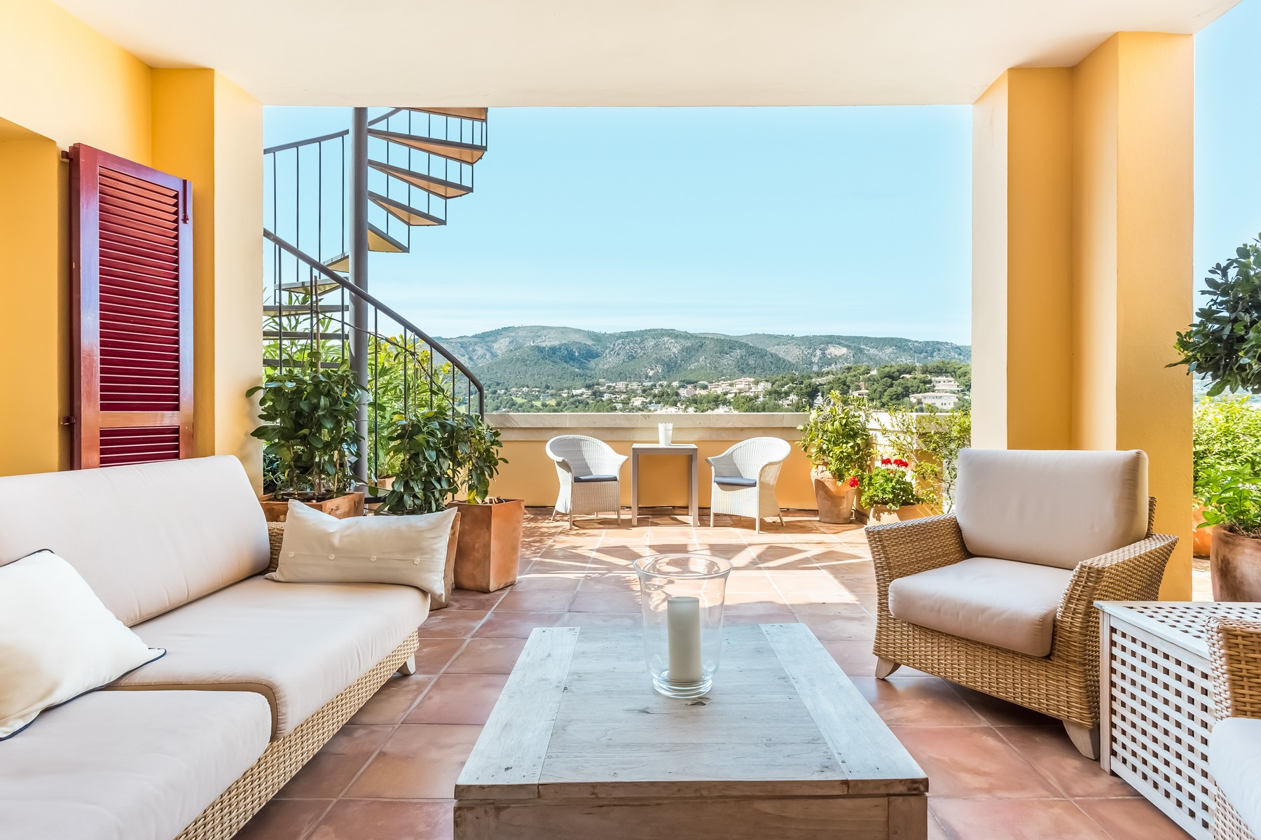 Apartment for Sale at Luxury Penthouse in Bendinat Bendinat, Mallorca, 07181 Spain
