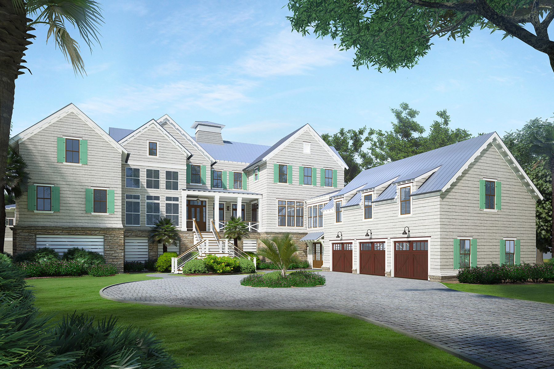 Single Family Home for Sale at 2401 Waterway Boulevard Isle Of Palms, Isle Of Palms, South Carolina, 29451 United States