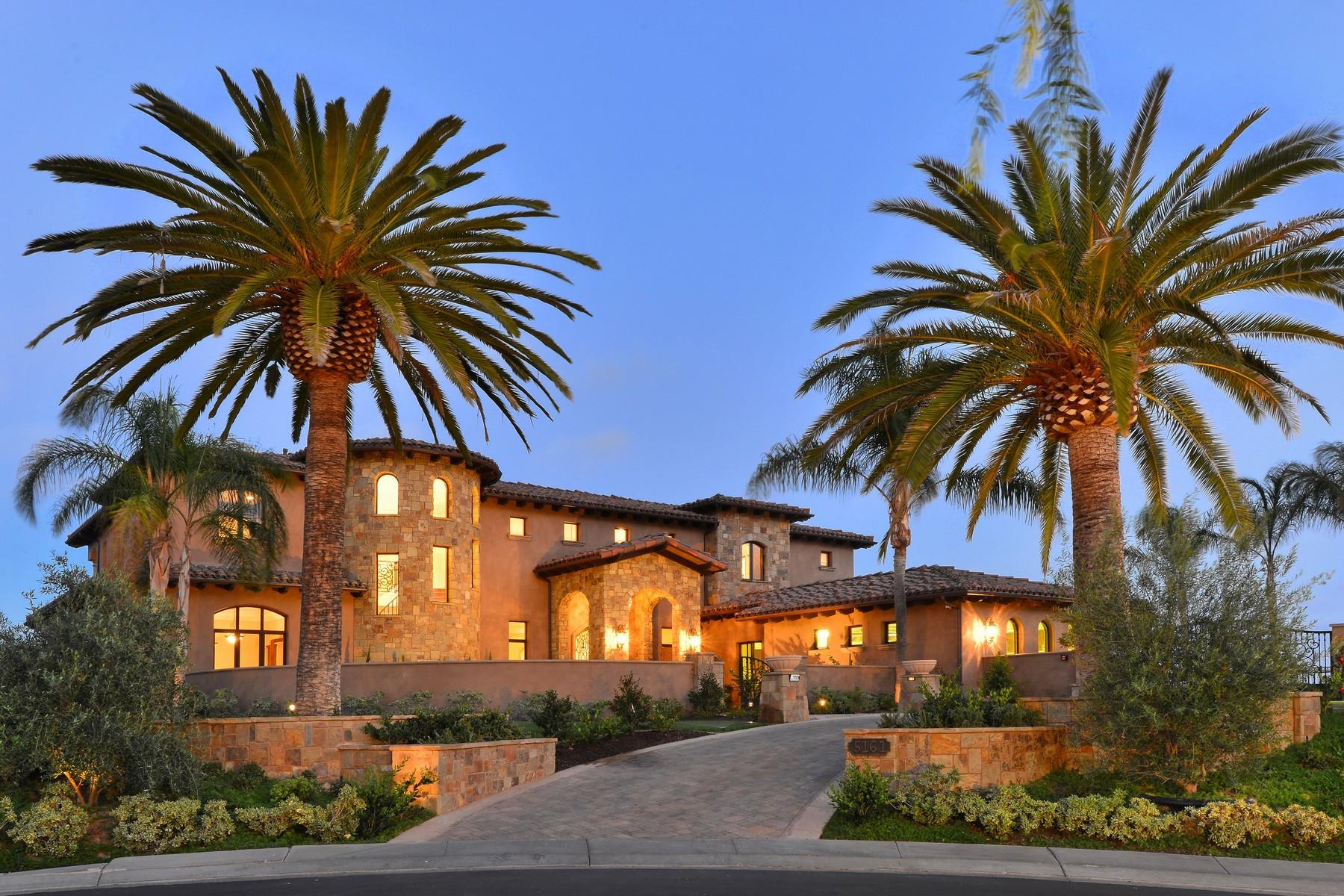Casa Unifamiliar por un Venta en 5161 Rancho Del Mar Trail San Diego, California 92130 Estados Unidos