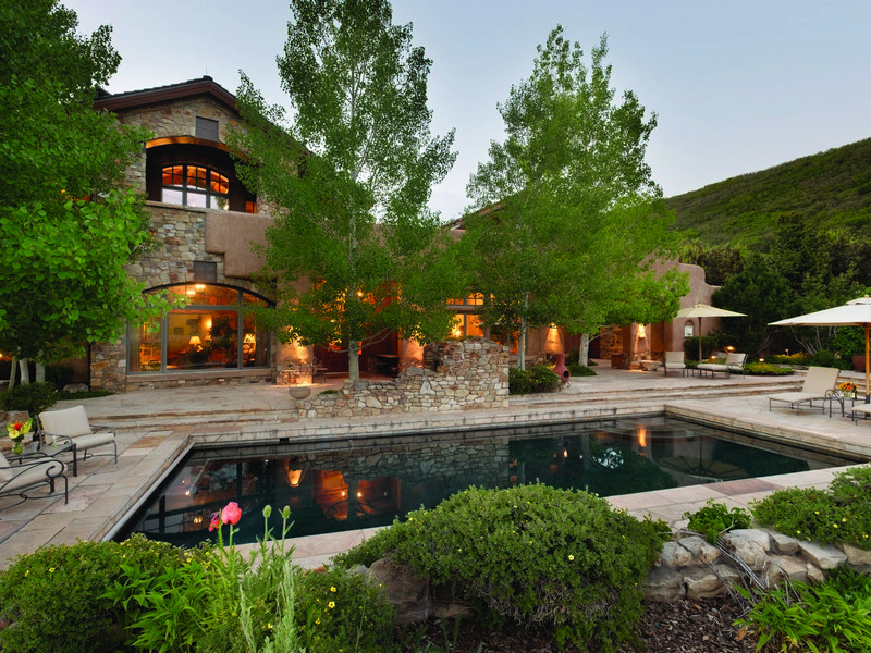 Single Family Home for Sale at Tuscan Estate in Old Snowmass 7852 Snowmass Creek Road Snowmass, Colorado 81654 United States