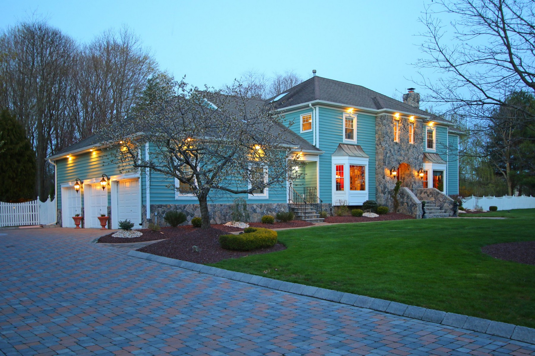 sales property at Stunning Colonial on Magnificent Property in Sought After Location