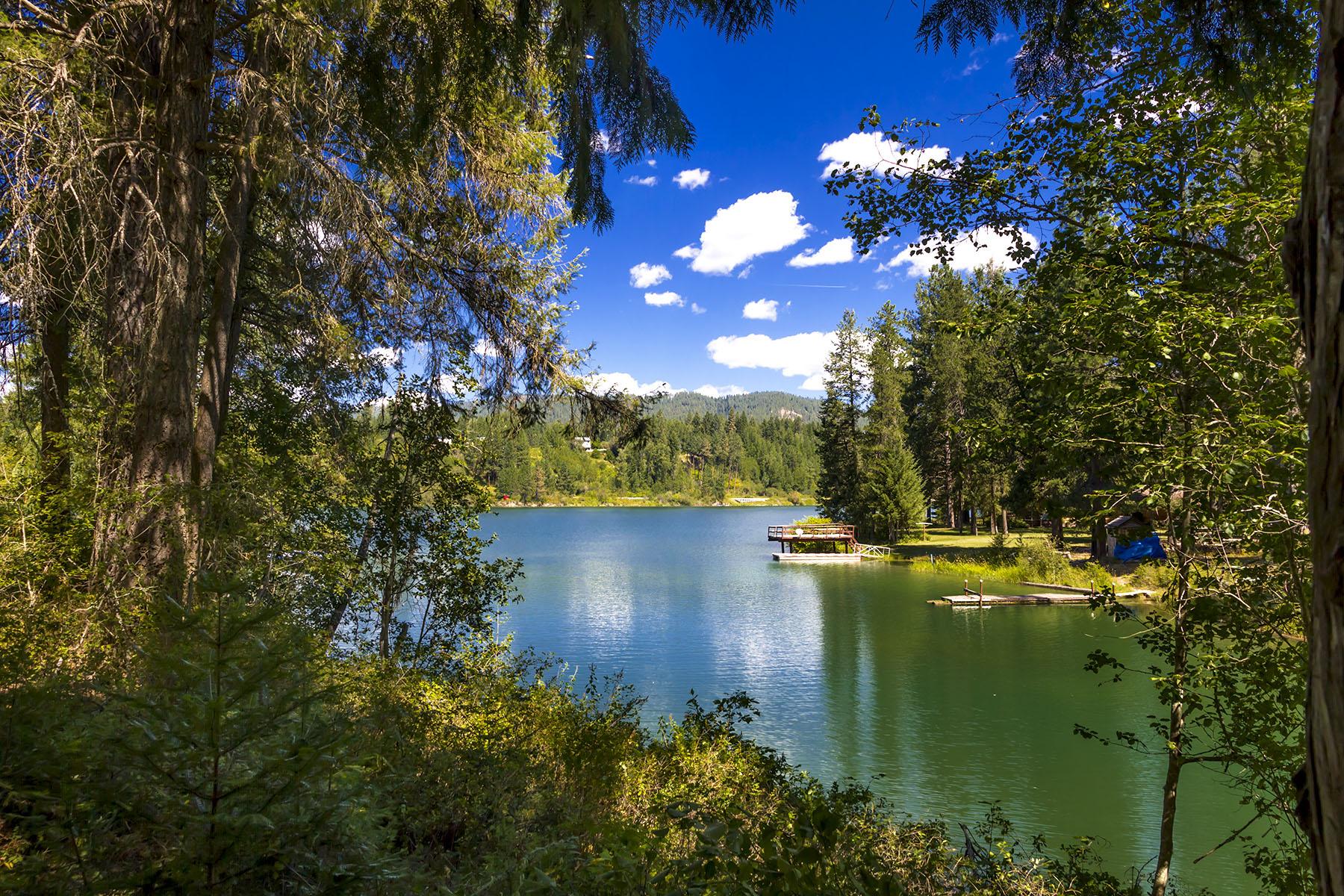 Terrain pour l Vente à Parcel with river & creek frontage! Lot 5 Sailor Lane Priest River, Idaho, 83856 États-Unis