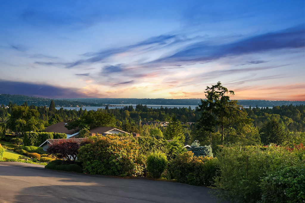 sales property at The Best View in Clyde Hill