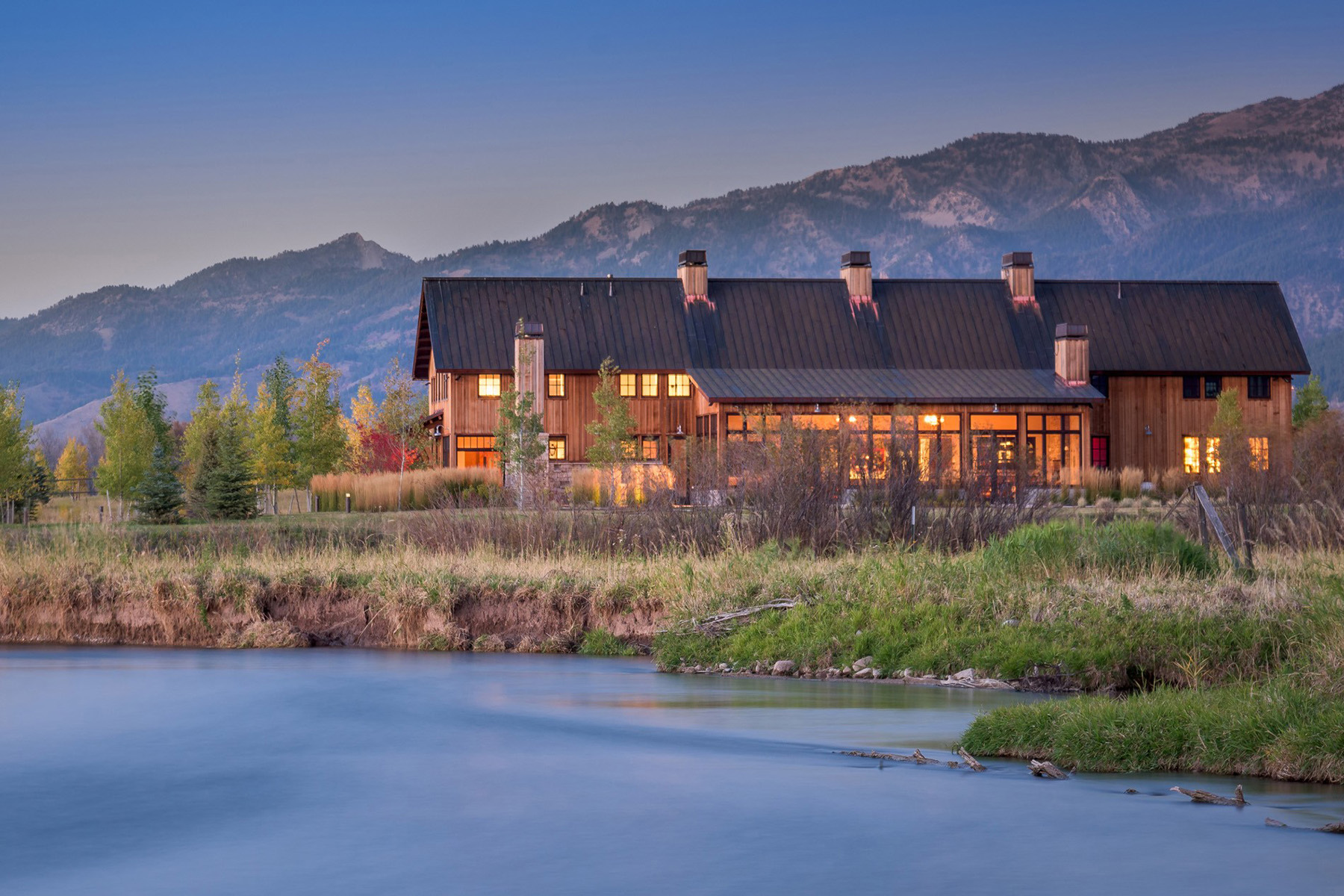 独户住宅 为 销售 在 The Cakebread Ranch 640 Clearwater Lane 塞尼, 怀俄明州, 83127 Jackson Hole, 美国