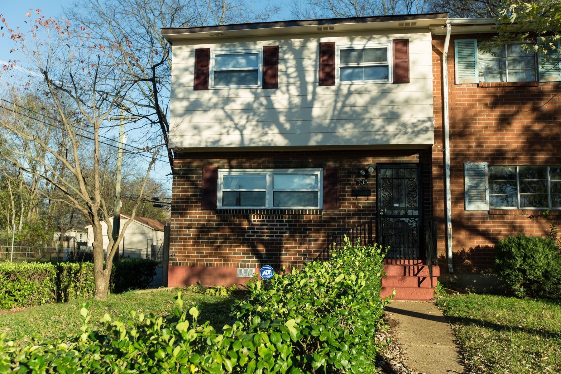 단독 가정 주택 용 매매 에 Great Opportunity in Nashville 735 Joseph Avenue Nashville, 테네시 37207 미국