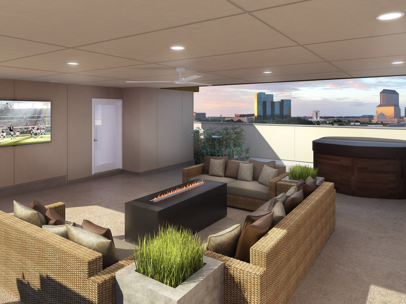 sales property at Luxury Condo With Rooftop Deck