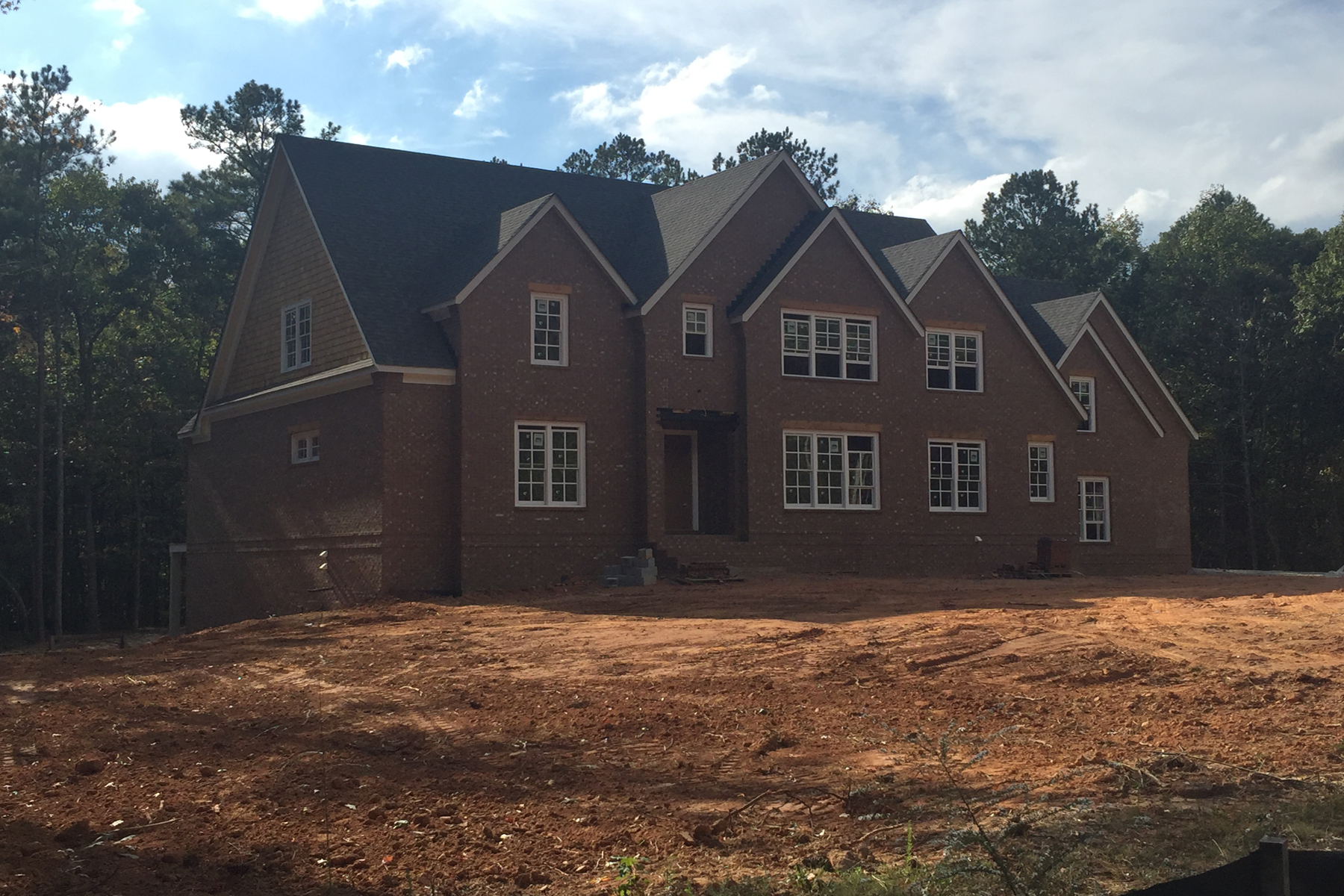 Single Family Home for Active at New Construction In McIntosh School District On Five Acres 205 Diamond Point Fayetteville, Georgia 30215 United States