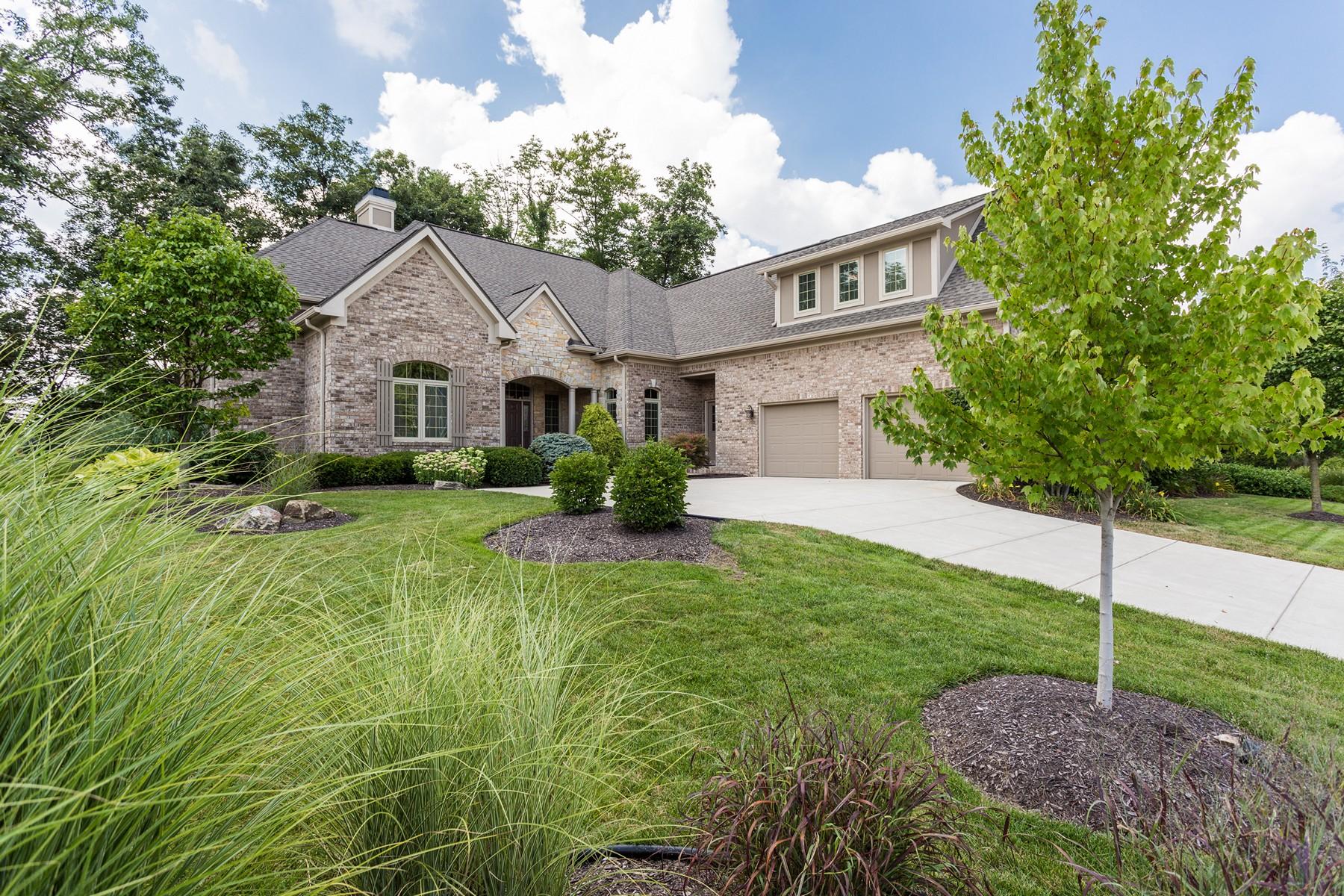 Casa para uma família para Venda às Exceptional Bridgewater Residence 15636 Hawks Way Carmel, Indiana, 46033 Estados Unidos