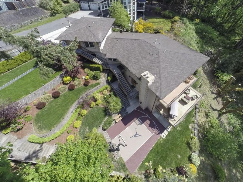 Single Family Home for Sale at Private Kirkland Contemporary 10802 103rd Ave NE Kirkland, Washington 98033 United States