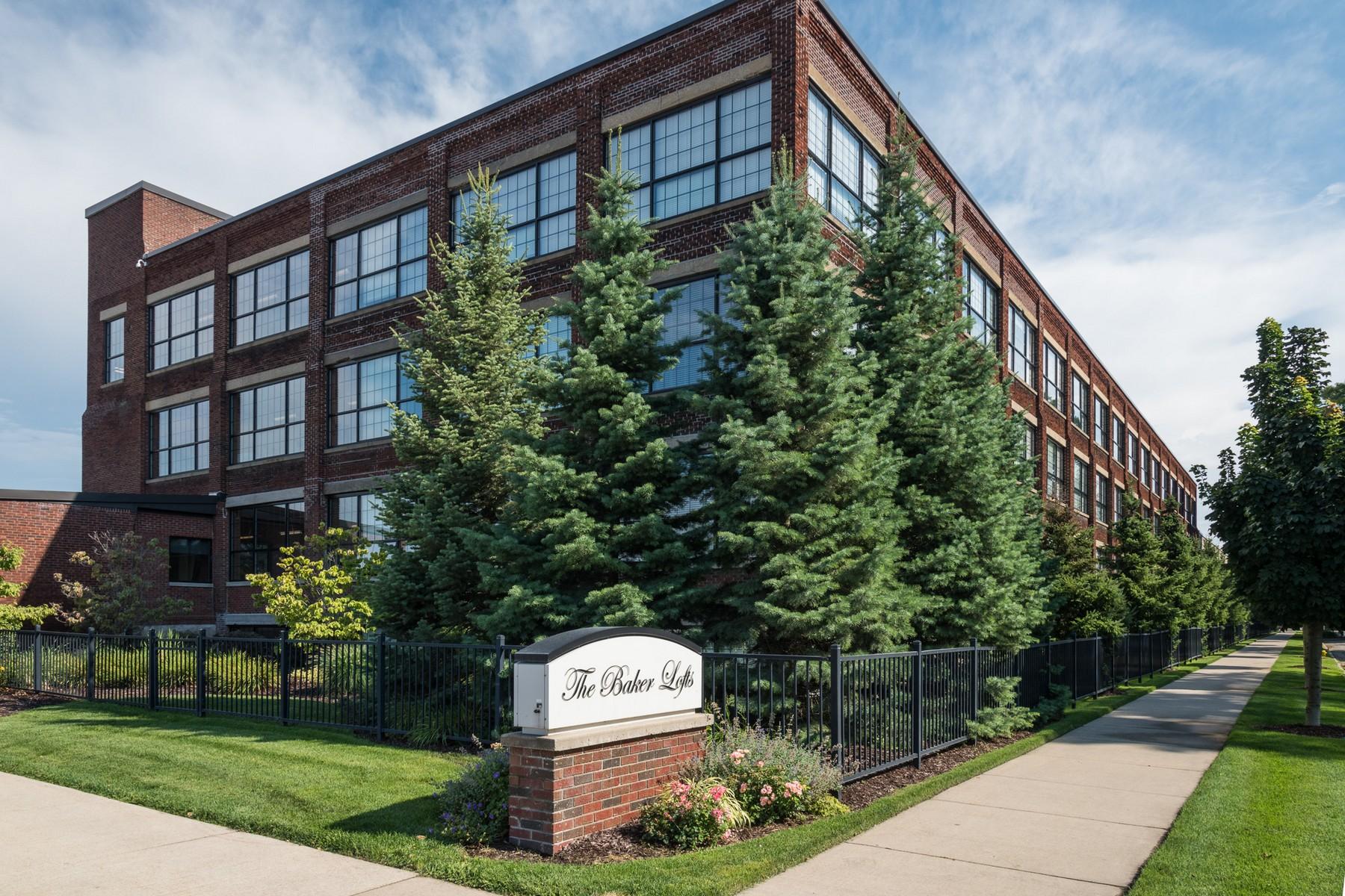 共管式独立产权公寓 为 销售 在 Baker Lofts Condominium 533 Columbia Avenue Unit 302 霍德兰, 密歇根州 49423 美国