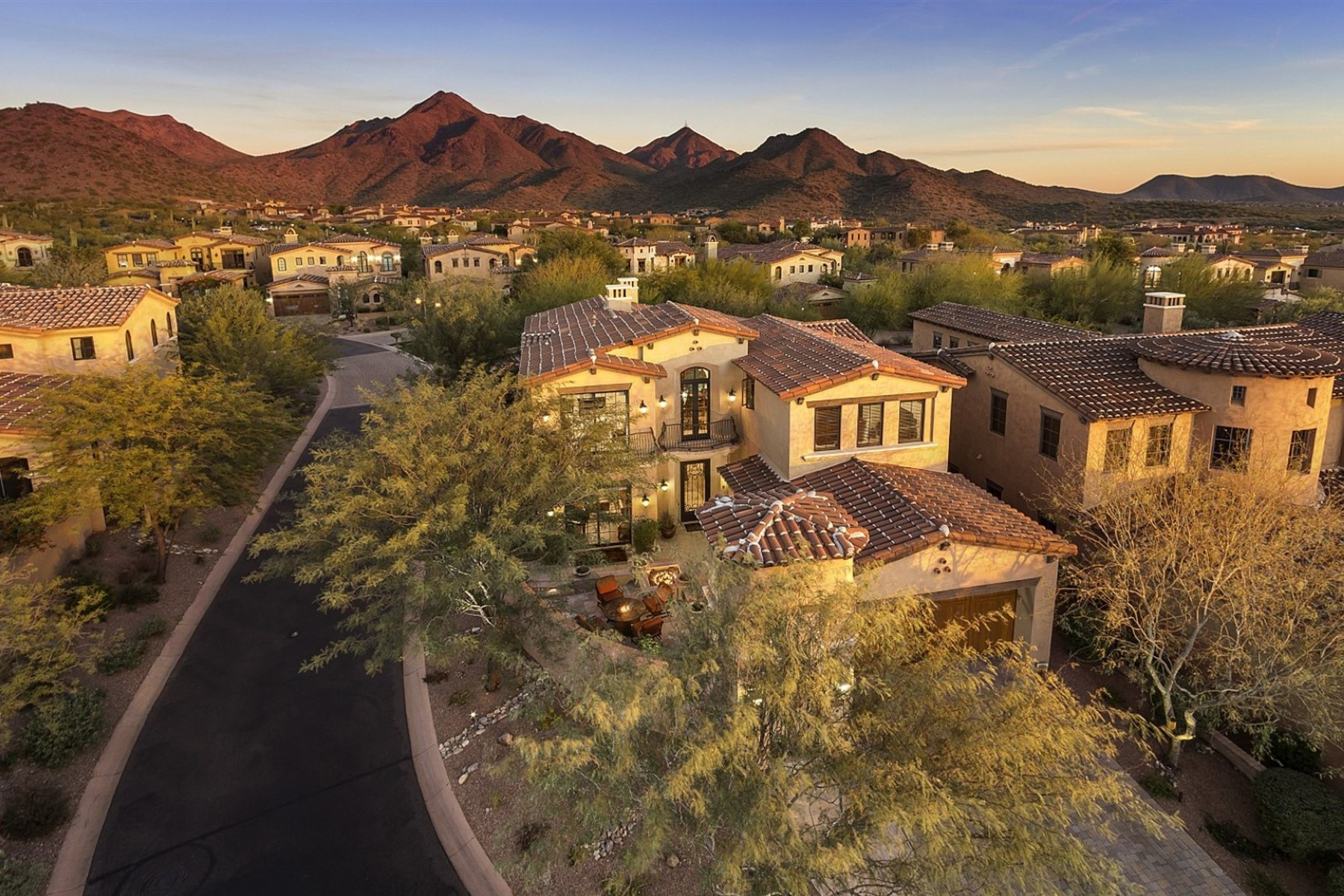 Property For Sale at Fabulous Canyon Villa in the Prestigious North Scottsdale Silverleaf Community