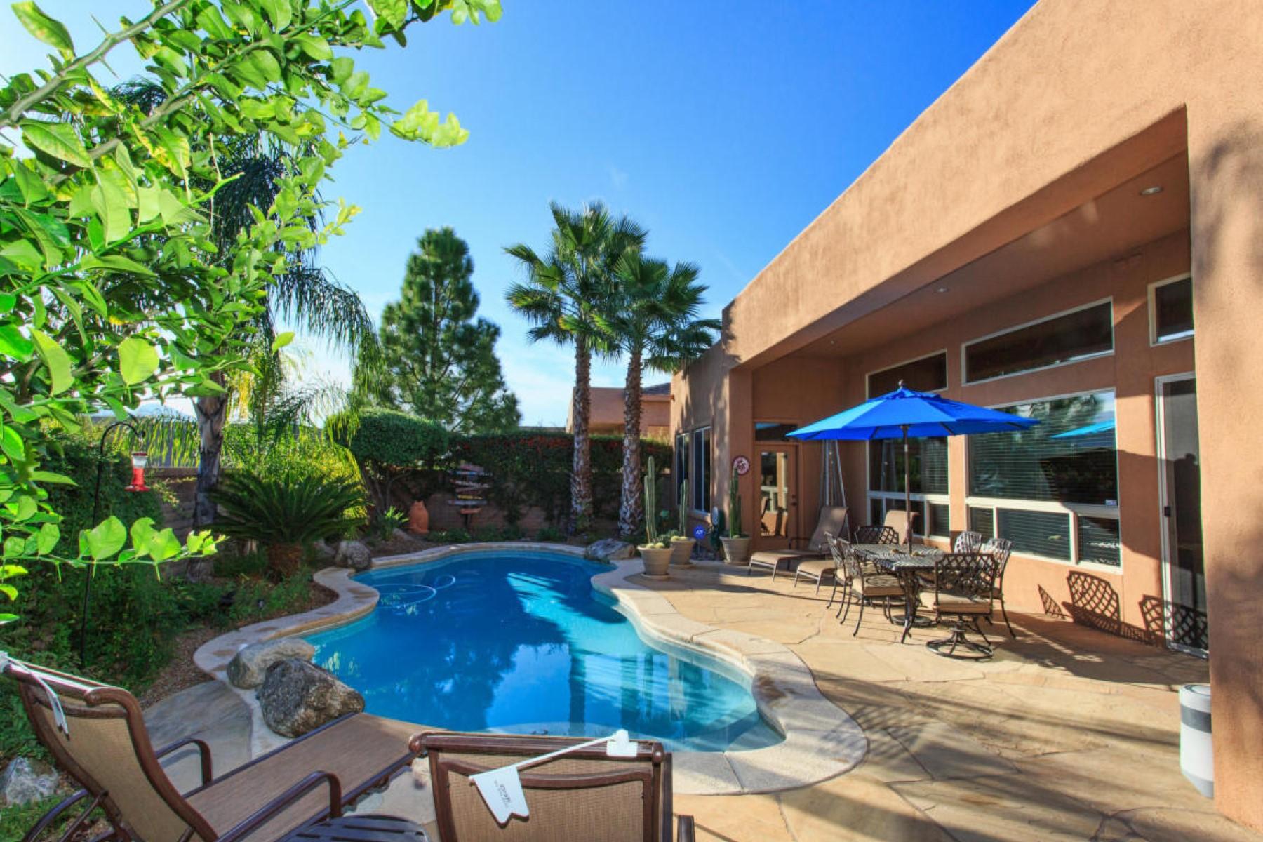 Частный односемейный дом для того Продажа на Highly desirable Fairfield Rancho Vistoso is an upscale gated community 13818 N Slazenger Drive Oro Valley, Аризона 85755 Соединенные Штаты