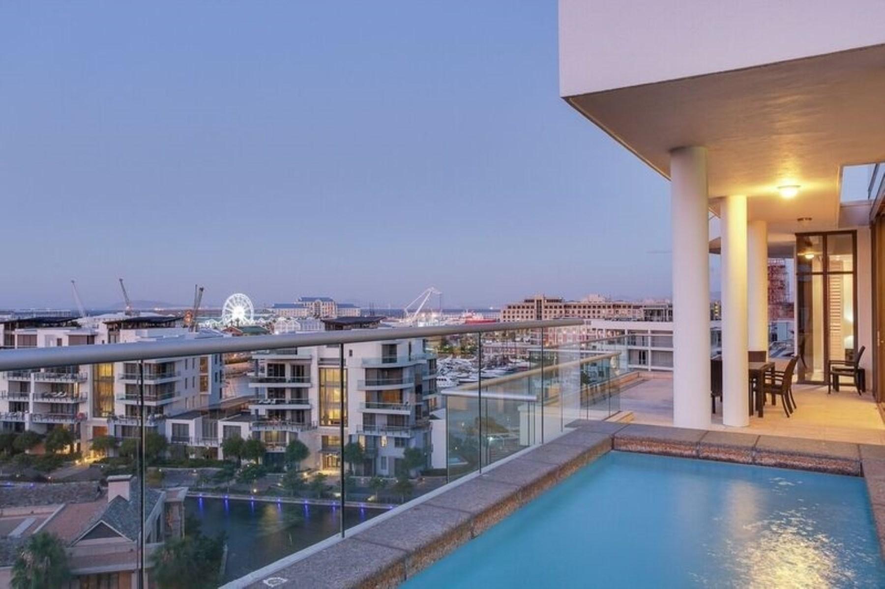 아파트 용 매매 에 A contemporary Apartment Cape Town, 웨스턴 케이프, 8005 남아프리카