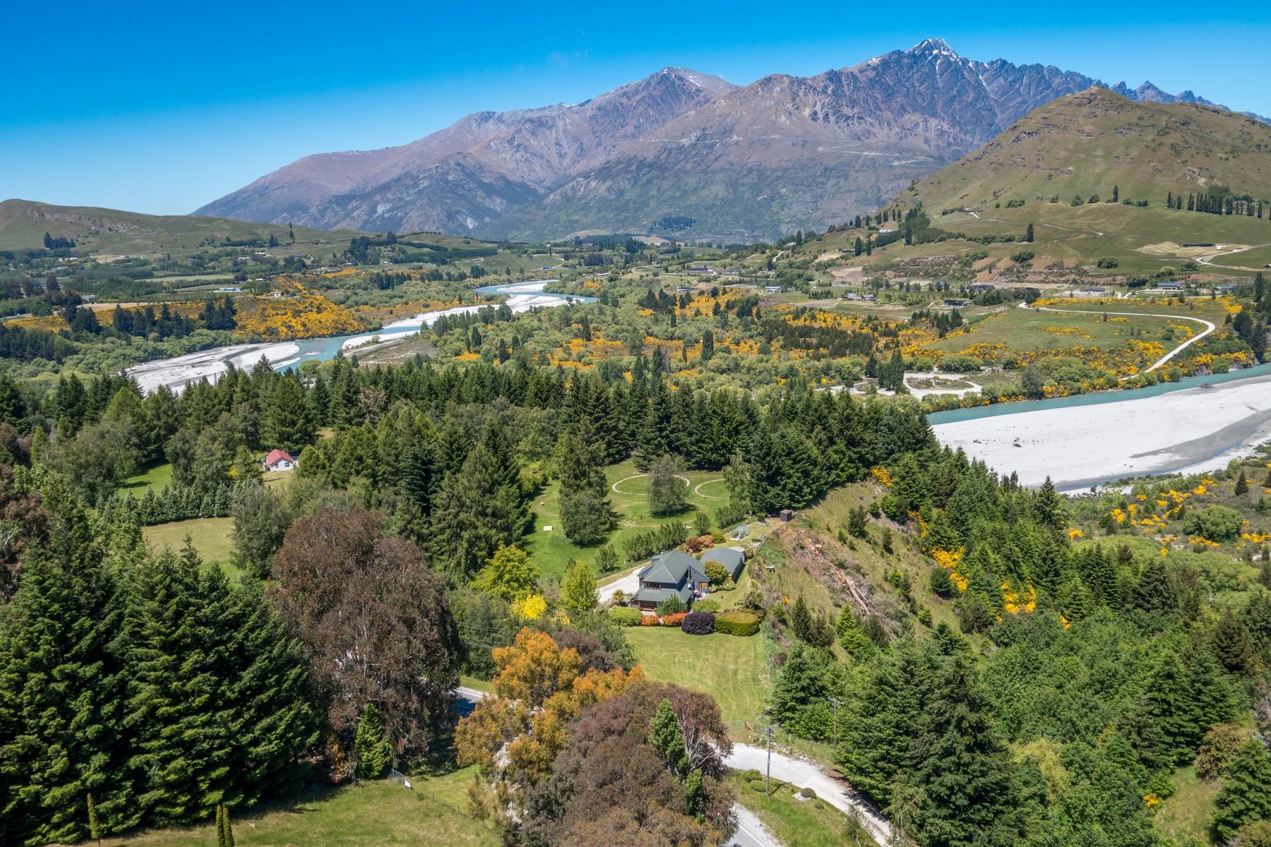 단독 가정 주택 용 매매 에 446 Littles Road, Dalefield Queenstown, 서던 레이크스 뉴질랜드