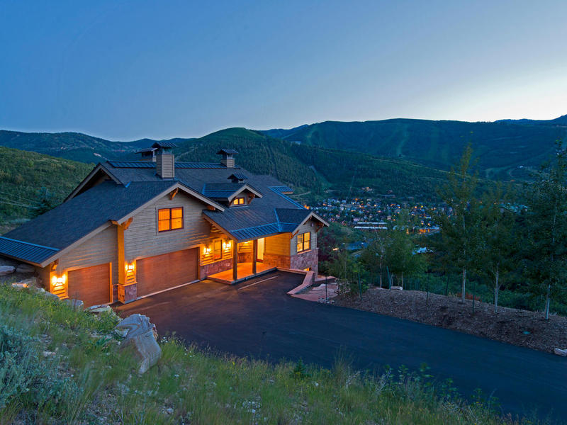 Vivienda unifamiliar por un Venta en Spectacular ski resort and old town views in complete privacy 1179 Aerie Dr Park City, Utah 84060 Estados Unidos