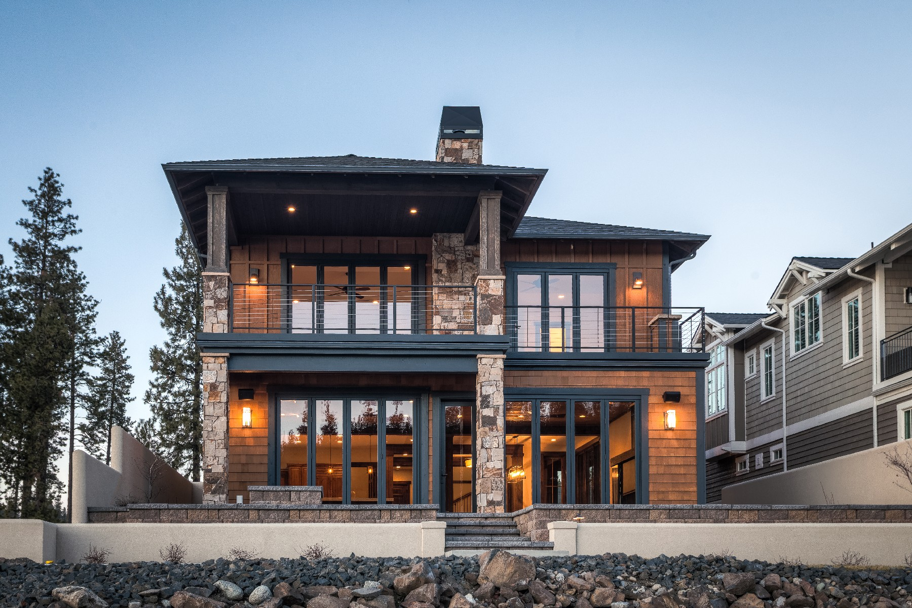 Other Residential for Sale at Luxurious Riverfront Home 3824 W Shoreview Ln Coeur D Alene, Idaho, 83814 United States