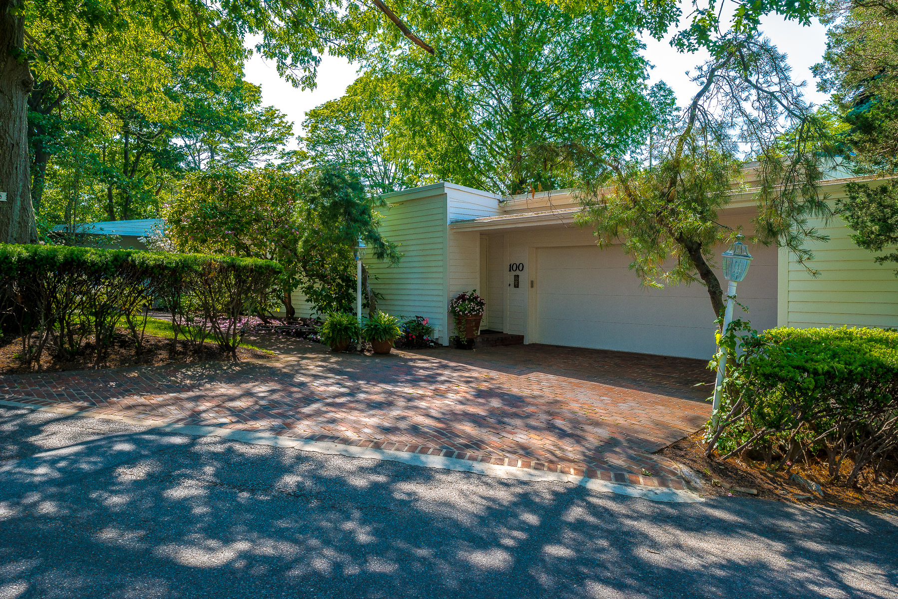 Single Family Home for Sale at Unique One Level Contemporary 100 Puritan Lane Swampscott, Massachusetts, 01907 United States