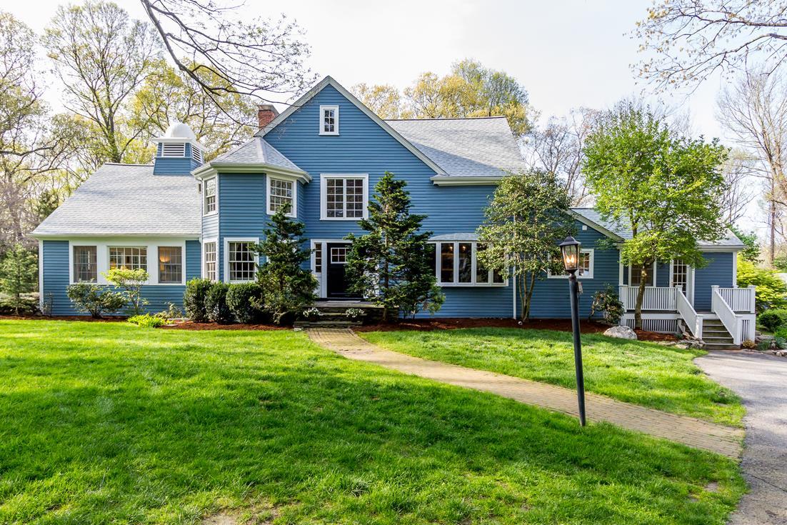Single Family Home for Sale at Mini-Estate on Peaceful Property 251 Belknap Road Framingham, Massachusetts 01701 United States