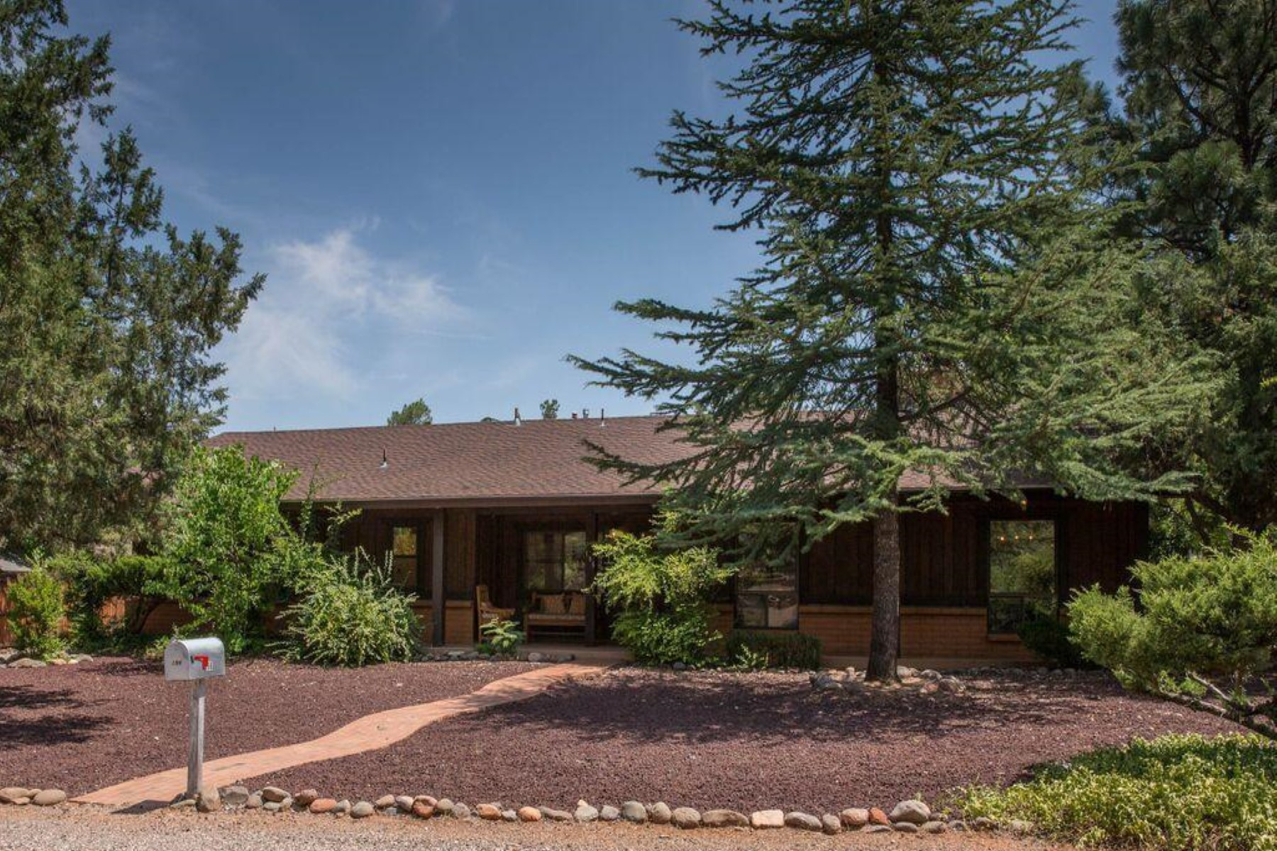 단독 가정 주택 용 매매 에 Perfect single level home in Flagstaff 196 Doodlebug RD Sedona, 아리조나, 86336 미국