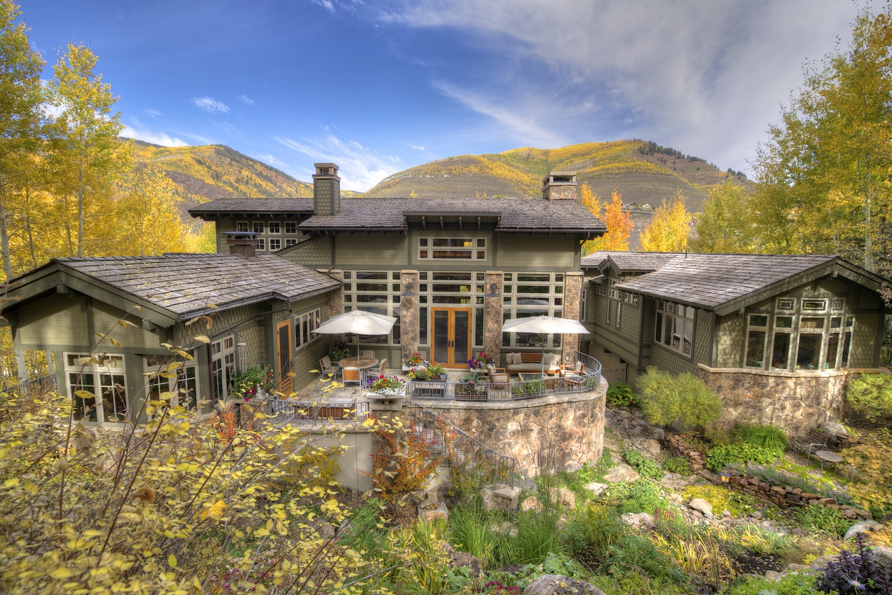 Single Family Home for Sale at 1350 Greenhill Ct Cascade, Vail, Colorado 81657 United States