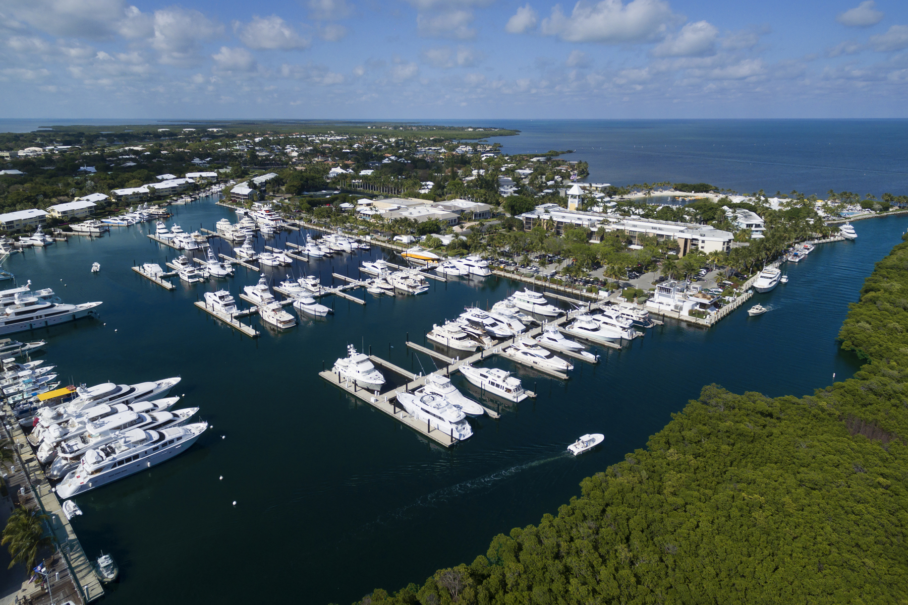 sales property at Ocean Reef Marina Offers Full Yacht Services
