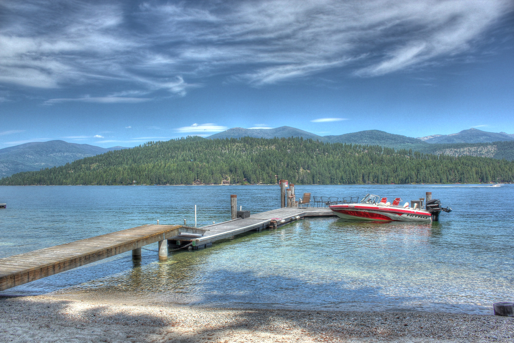 Single Family Home for Sale at Charming Lake Cottage 532 Hagman Road Nordman, Idaho 83848 United States