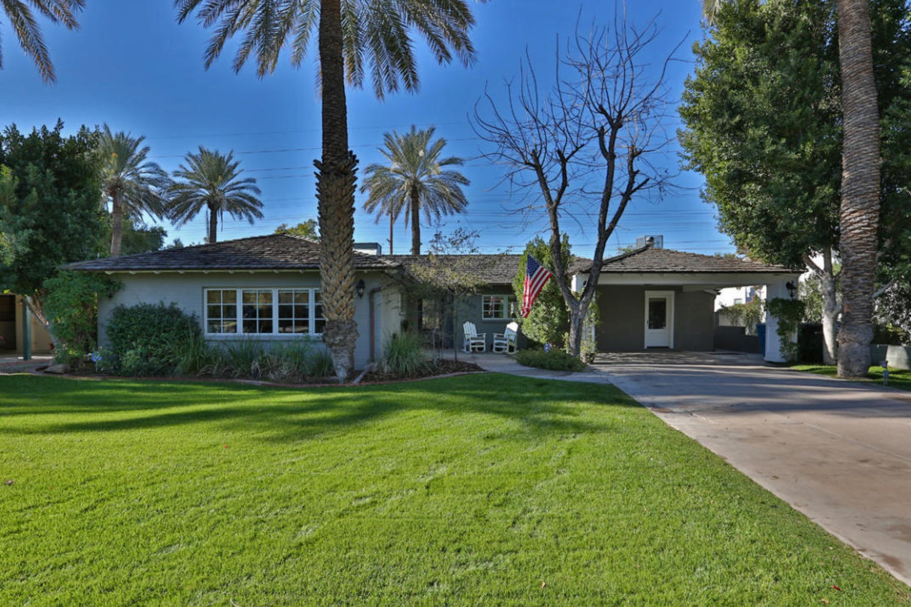 sales property at Tucked away on a beautiful tree lined street in the desirable section of Arcadia
