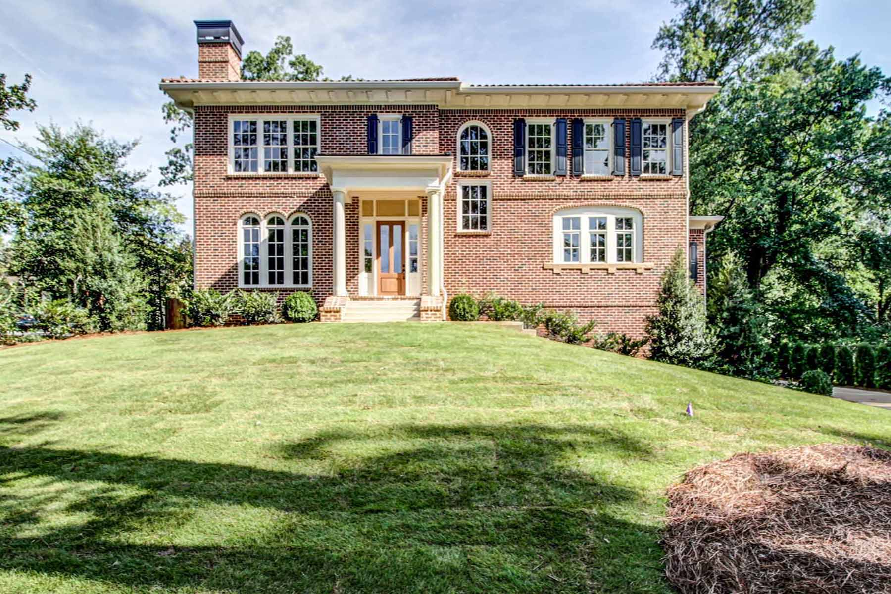 Single Family Home for Sale at Live the life of Urbane Sophistication, Newly Custom Designed and Built 1512 N Decatur Road NE Druid Hills, Atlanta, Georgia, 30307 United States