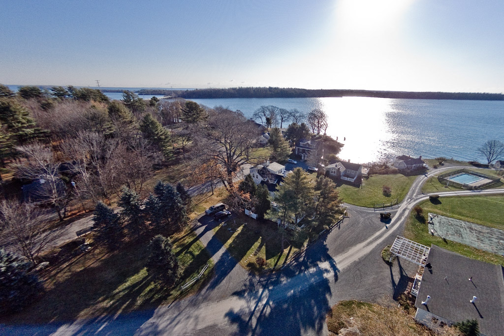 Single Family Home for Sale at 215 Drinkwater Point Road Yarmouth, Maine 04096 United States