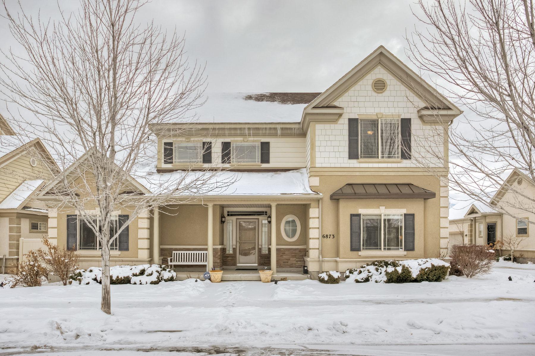 Maison unifamiliale pour l Vente à Jordan River Parkway Gem 6873 Triumph Ln West Jordan, Utah 84084 États-Unis