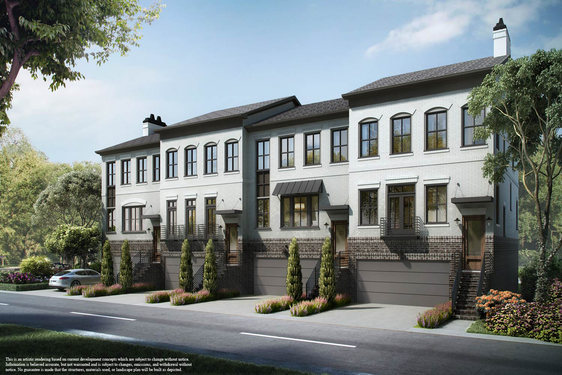 Townhouse for Sale at Sophisticated Townhome in the Heart of Edgewood 1388 LaFrance Street Unit #4 Atlanta, Georgia, 30307 United States