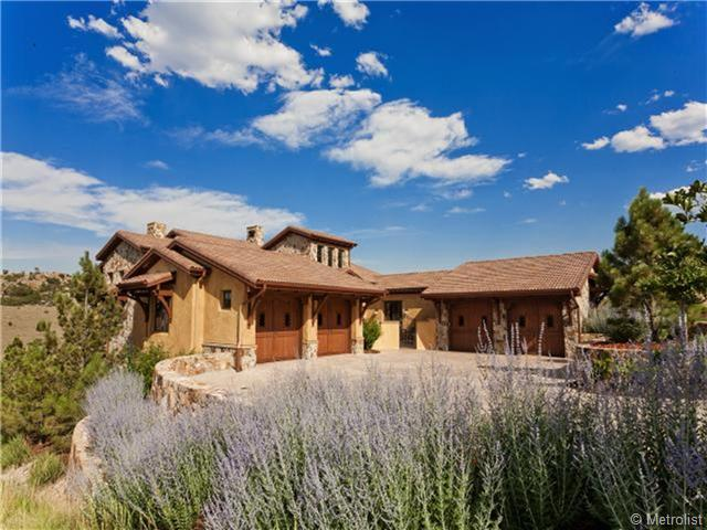 Maison unifamiliale pour l Vente à Custom Retreat at Ravenna Golf Club 7690 Raphael Ln Littleton, Colorado 80125 États-Unis