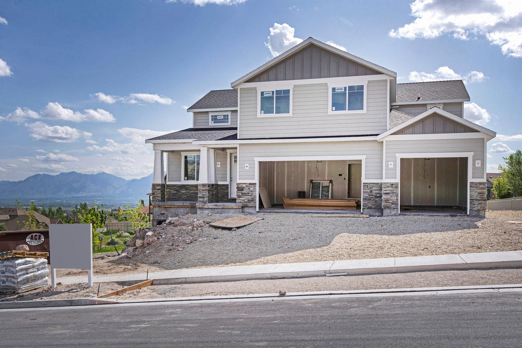 단독 가정 주택 용 매매 에 Lake City Custom Homes Kendall Plan 14337 S Herriman View Way Lot #401 Herriman, 유타 84096 미국