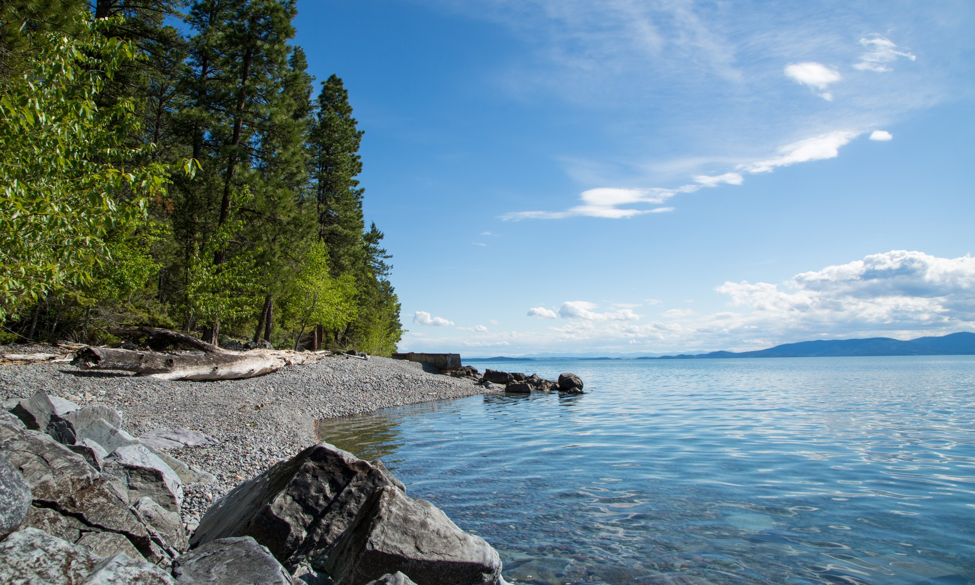 Property For Sale at Flathead Lake Beach