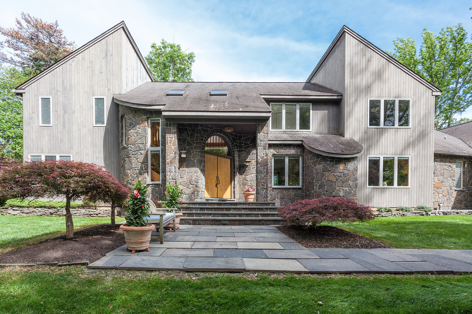 Single Family Home for Sale at Stunning Custom Contemporary 1700 Kreibel Mill Rd. Worcester, 19426 United States