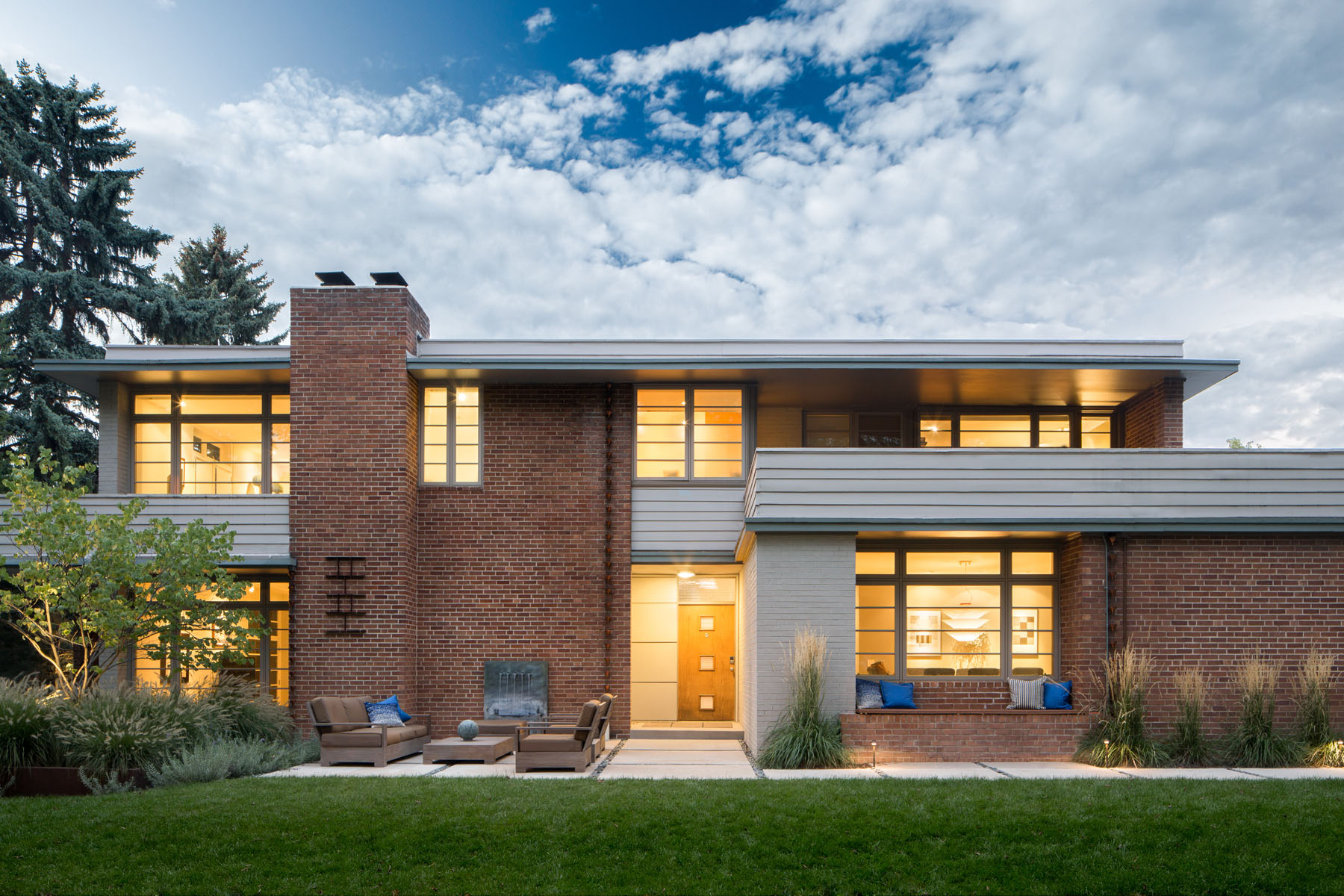 Single Family Home for Sale at FRANK LLOYD WRIGHT'S USONIAN STYLE MID-CENTURY MODERN 5435 East 6th Avenue Parkway Hilltop, Denver, Colorado, 80220 United States