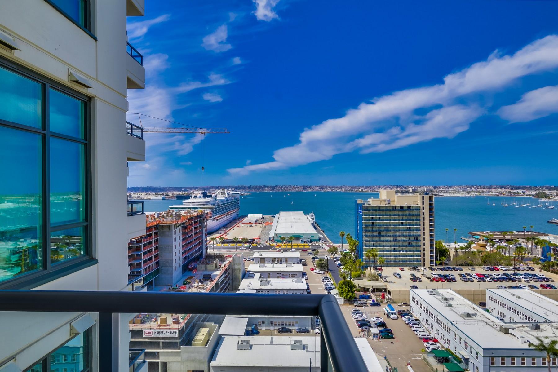 Eigentumswohnung für Verkauf beim 1199 Pacific Hwy 1702 San Diego, Kalifornien 92101 Vereinigte Staaten