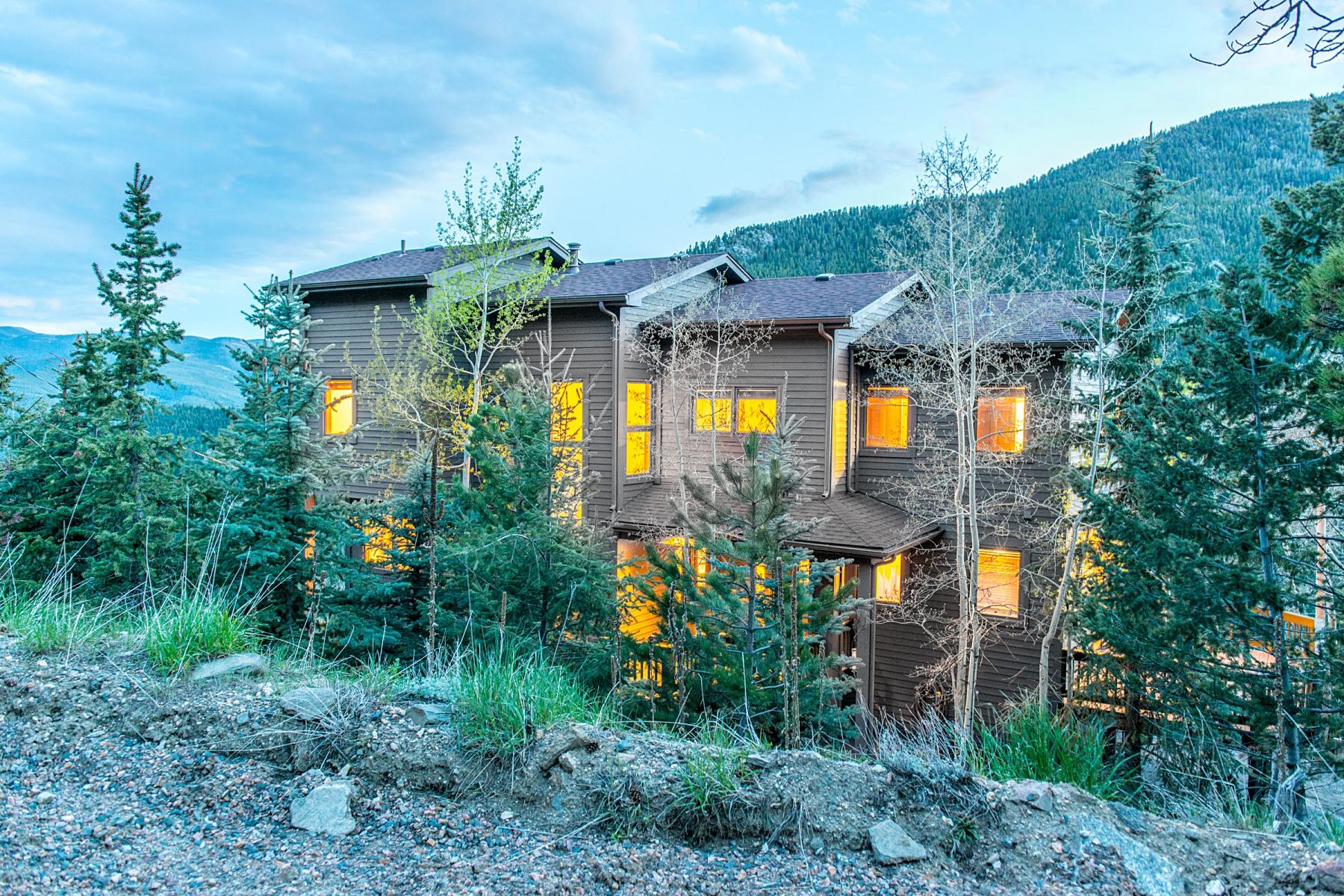 Частный односемейный дом для того Продажа на Layered Mountain Views 20 Aspen Circle Evergreen, Колорадо 80439 Соединенные Штаты