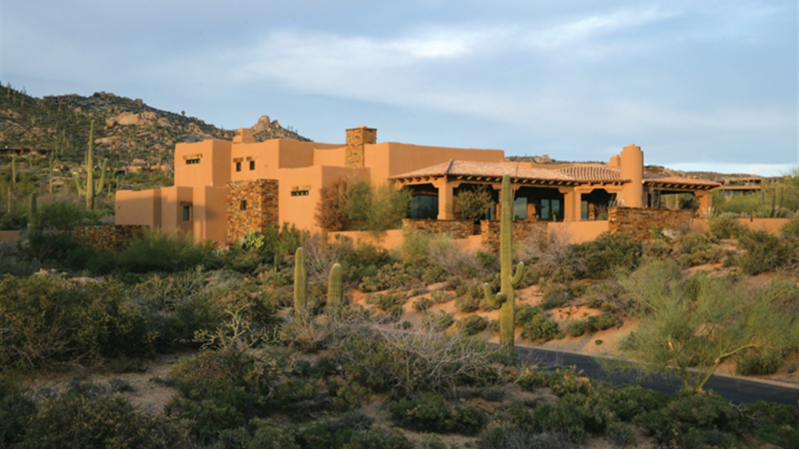 Property For Sale at Luxurious Santa Fe Style Custom Home in Desert Mountain