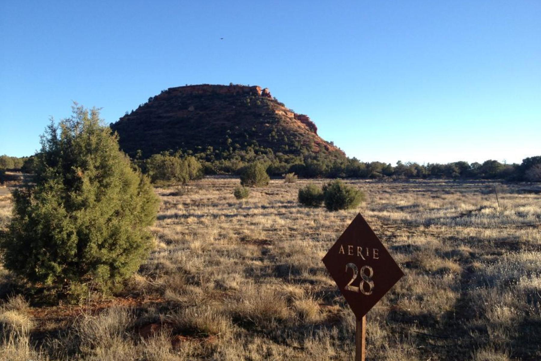 土地 为 销售 在 Aerie Lot 20 - Gently sloped, very private lot with expansive red rock views. 150 Altair AVE 20 Sedona, 亚利桑那州 86336 美国