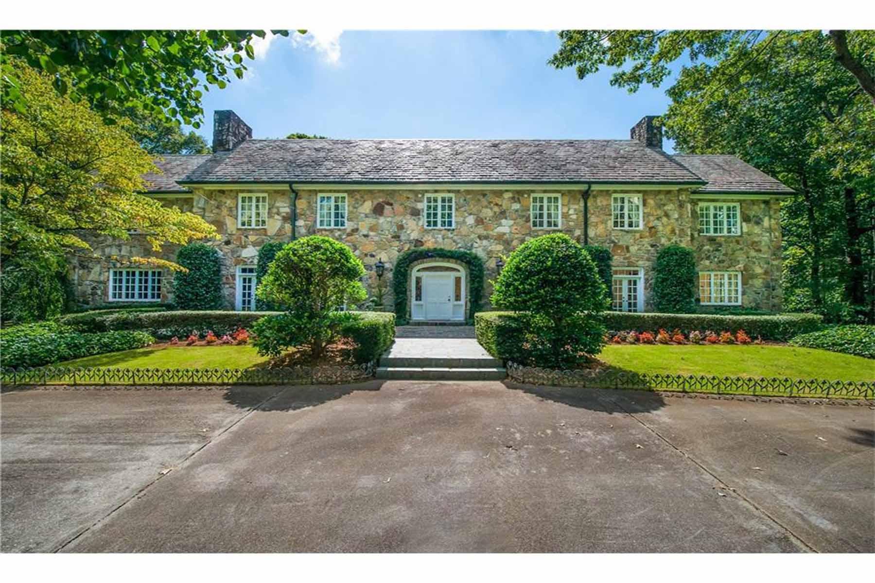 獨棟家庭住宅 為 出售 在 First Class Equestrian Estate 2585 Gelding Court Marietta, 喬治亞州, 30062 美國